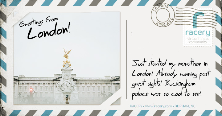 Digital London Postcard