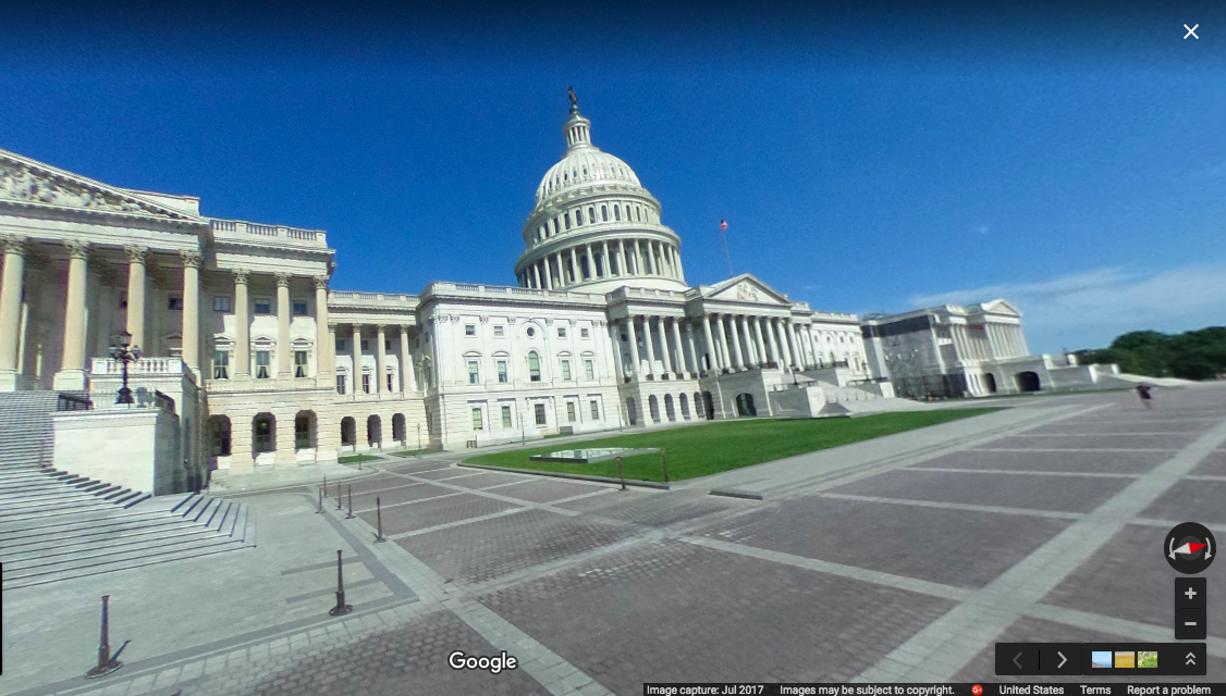 Capitol building GSV